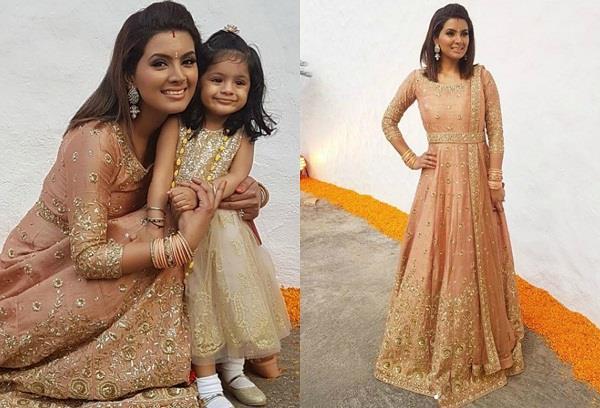 geeta basra photoshoot with daughter hinaaya