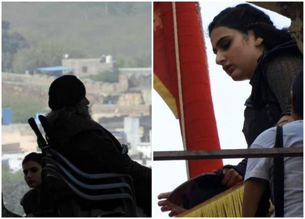 'ठग्स..' के सेट से तस्वीरें लीक, बिग बी और फातिमा का लुक आया सामने