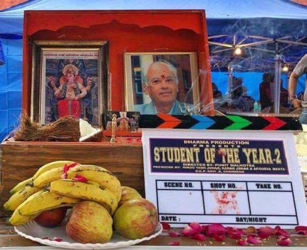 student of the year2 begins today
