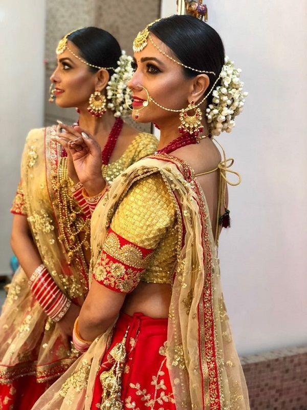 anita hassanandani bridal look viral