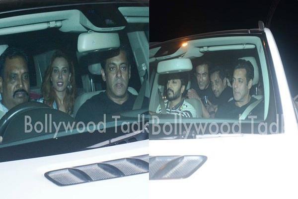 salman khan enjoy party after blackbuck case