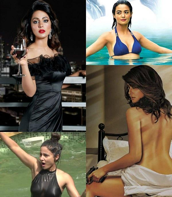 bold scenes by tv actress