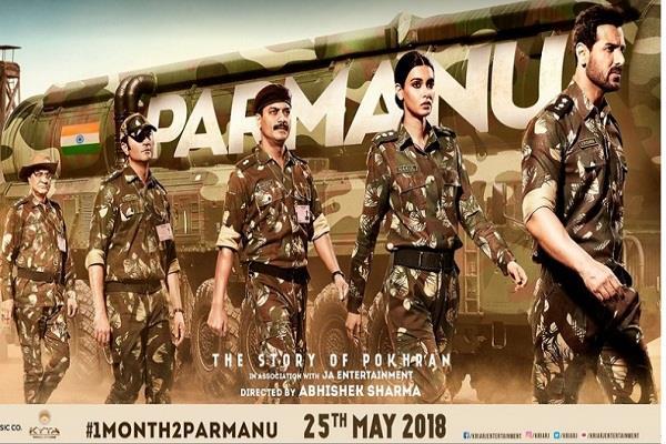 john abraham share new poster of parmanu