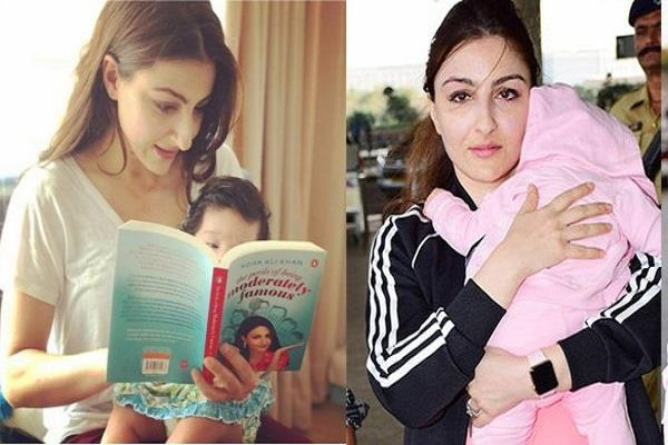 soha is learning from her daughter how to stay tension free