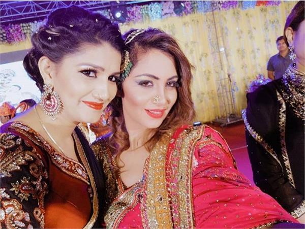 sapna choudhary latest dance video with arshi khan