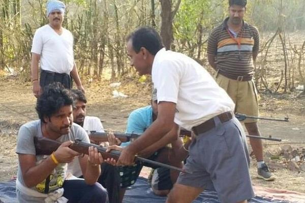 training to run the bajrang dal giving arms to stop love jihad