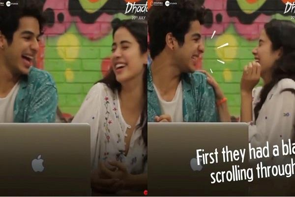 ishaan and janhvi surprised by the viewers reaction to dhadak trailer