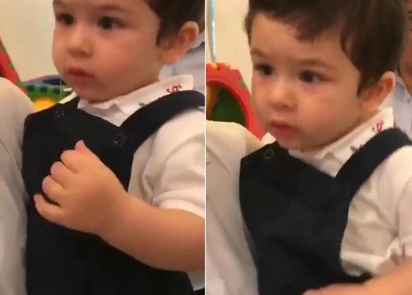 taimur ali khan dance video viral