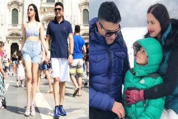 divya khosla kumar enjoying summer vacation with husband bhushan kumar