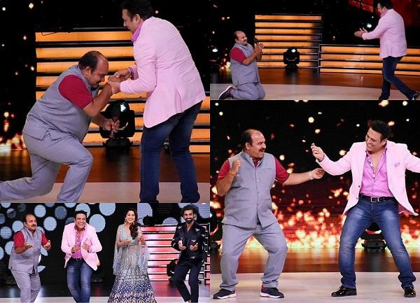 sanjeev shrivastav met his govinda on dance deewane