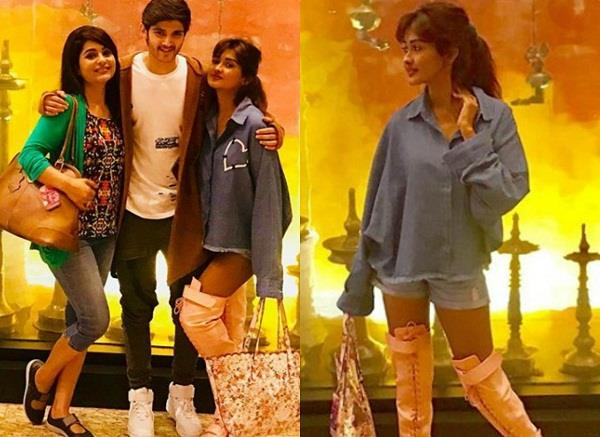 rohan mehra holiday girlfriend kanchi singh