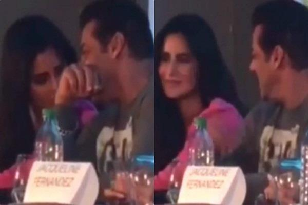 salman khan katrina kaif funniest moment during the press conference