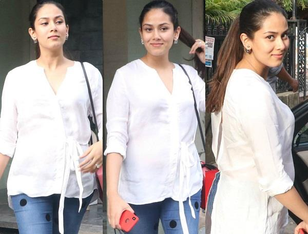 mira rajput spotted at bandra