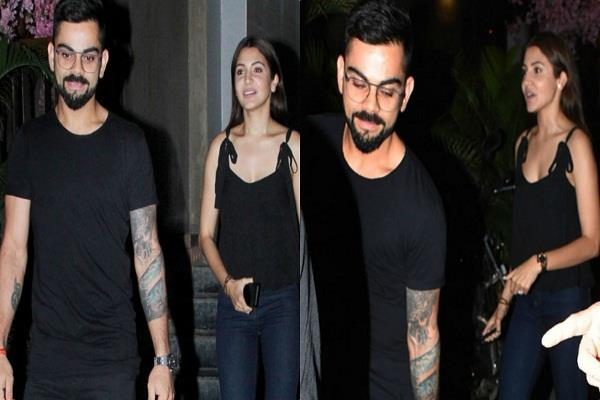 virat kohli and anushka sharma spotted dinner date