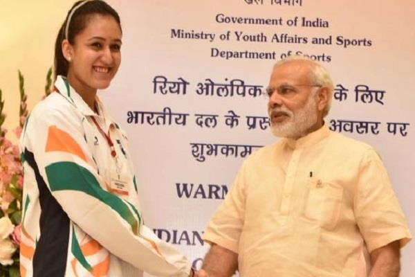 manika batra accepts pm modi fitness challenge