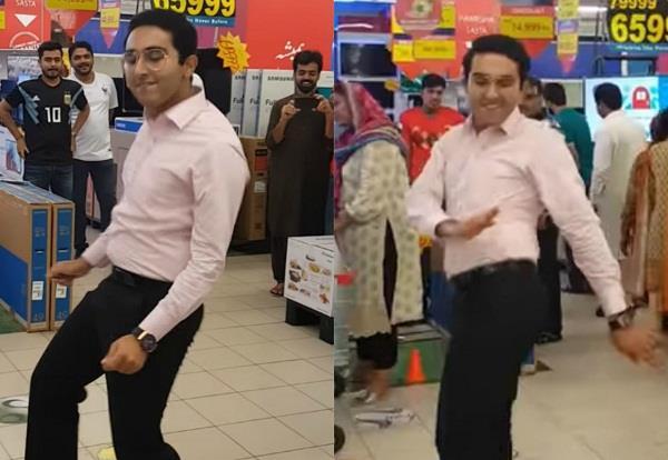 pakistani boy mehroz baig dance on punjabi song laung laachi  video viral