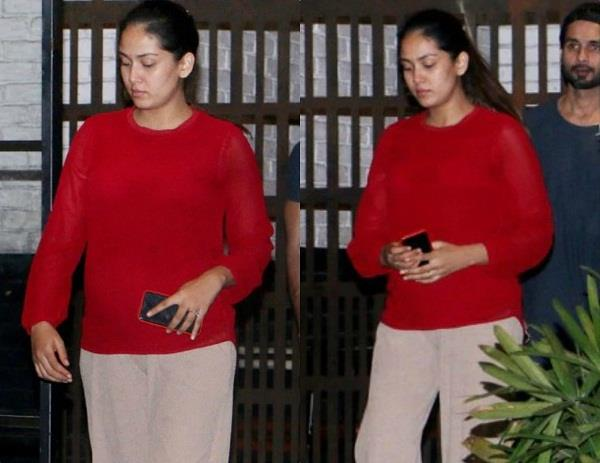 mira rajput spotted at dinner date with husband shahid kapoor