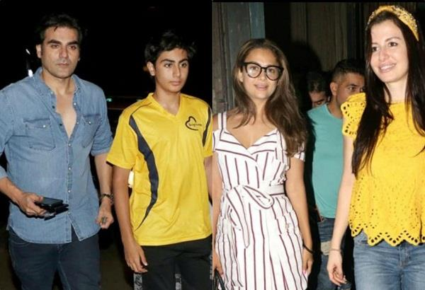 arbaaz khan spotted with rumoured girlfriend georgia andriani at dinner date