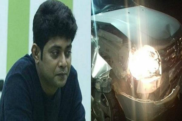 sabyasachi satpathy met with an accident
