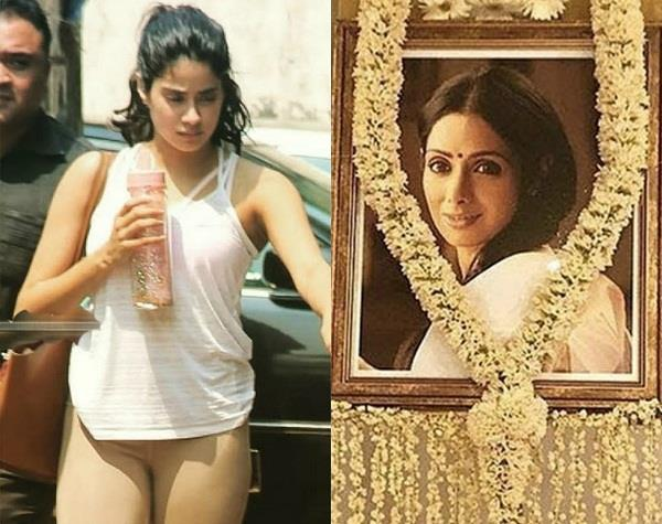 janhvi kapoor wants to join shooting the next day of sridevi funeral