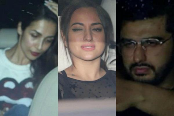 dhadak screening bollywood stars reaction