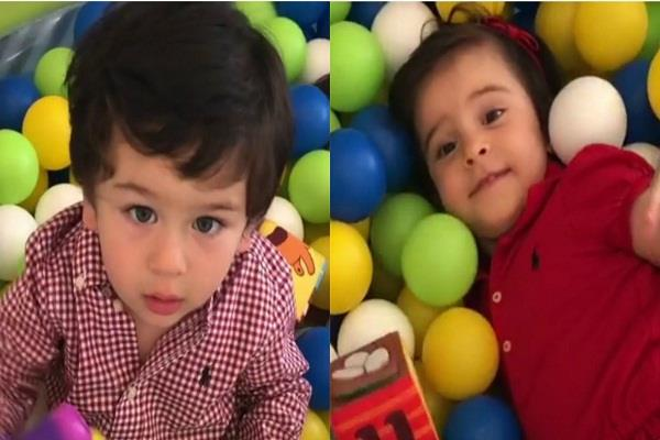 taimur ali khan enjoying summer vacation with friend yash and roohi
