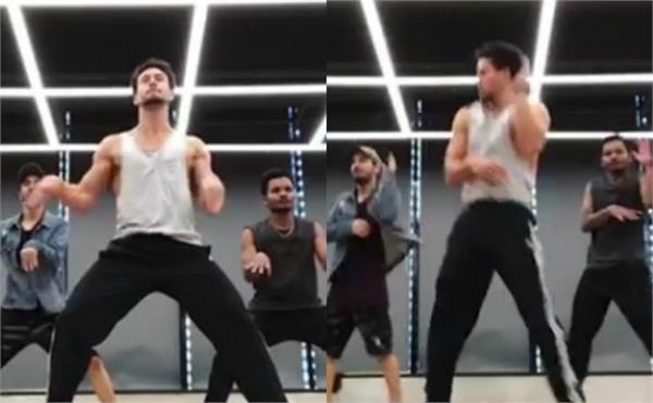 tiger shroff flaunts his fab moves on salman khan song
