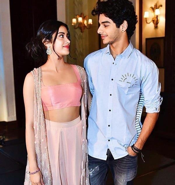 jhanvi and ishaan talking about love