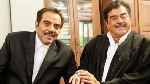 after 20 yrs dharmendra and shatrughan sinha reunite in film