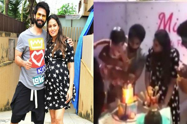 shahid and mira celebrates daughter misha second birthday