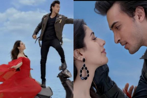 loveratri third song tera hua release
