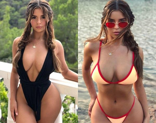 demi rose bold pictures on instagram