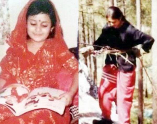 divyanka tripathi teenage pictures