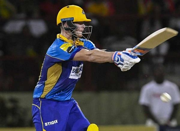 smith shine bat and ball in cpl