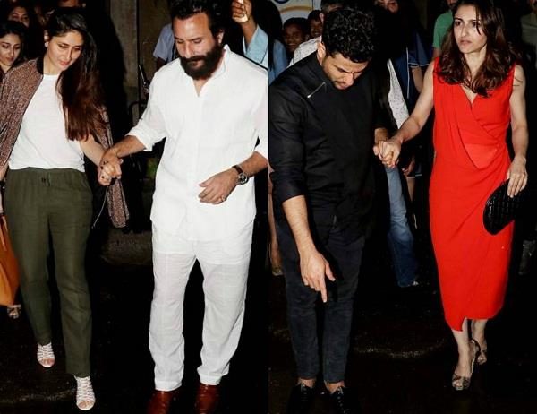 kareena saif dinner date with soha and kunal