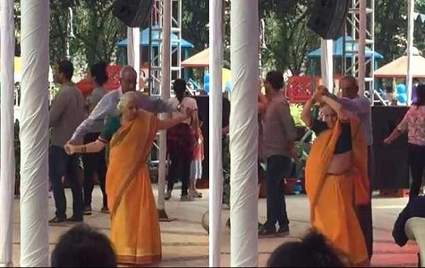 indian couple dancing video