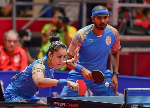 india win bronze in mix double table tennis