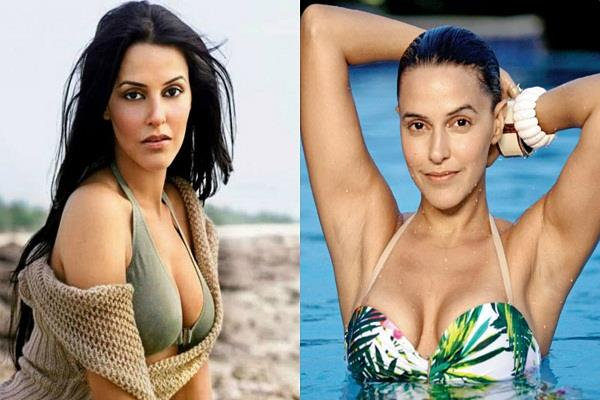 neha dhupia speaks about breast implant