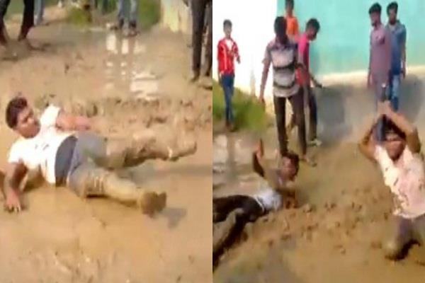 nagin dance on mud in dj vedio viral