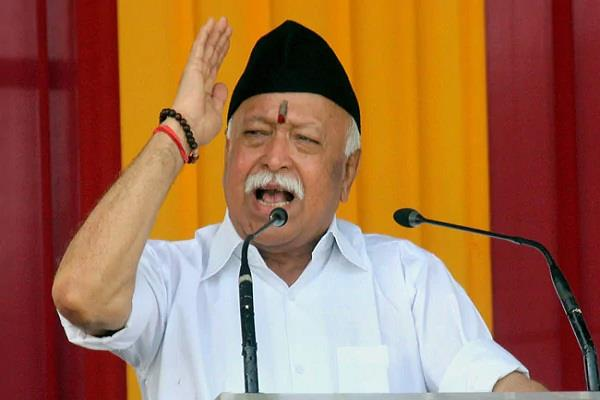 bhagwat in america hindus should come together for a better society