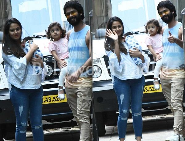 first picture of shahid and mira son zain kapoor