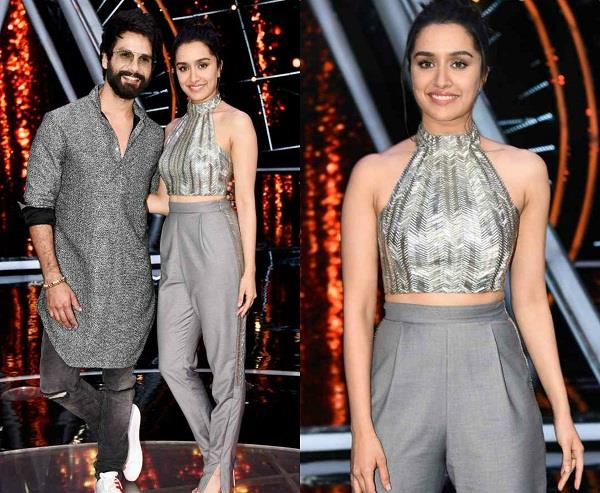 shahid and shraddha on india idol set to promote film batti gull meter chalu