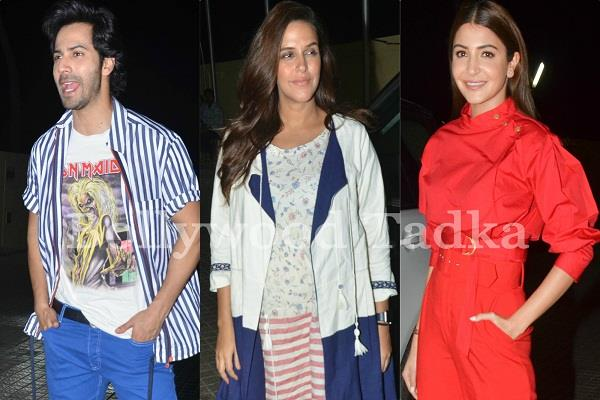 celebs attend at sui dhaaga special screening