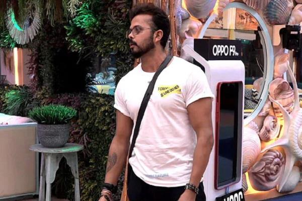 shreesanth bigg boss 12