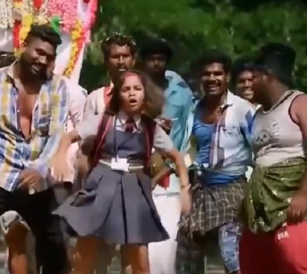 school girl dance viral video