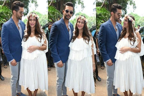 neha dhupia baby shower pictures