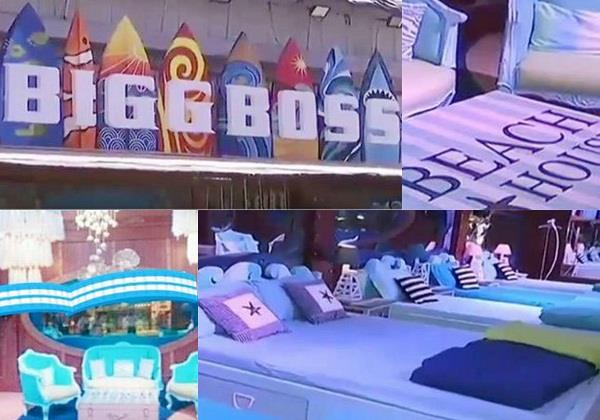 bigg boss12 house inside pictures leaked