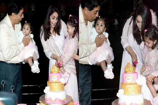 chahat khanna celebrates daughter mirza second birthday