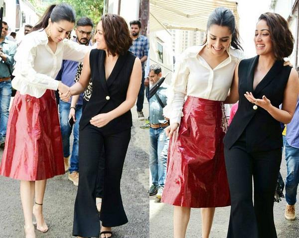 shraddha and yami friendship during batti gul meter chalu film pramotion