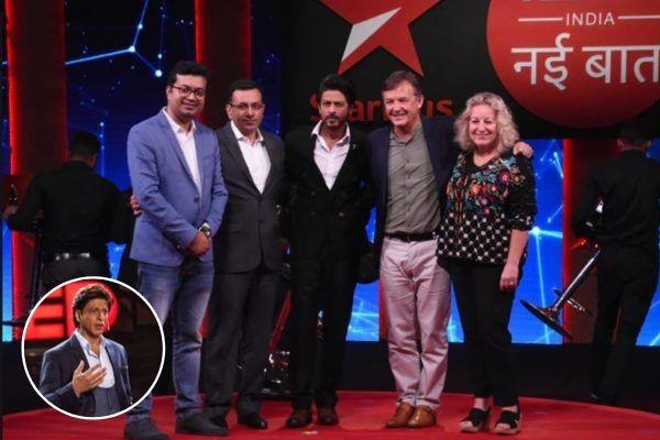 shahrukh khan comeback wtih his show ted talks season 2